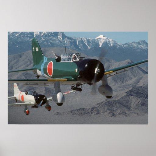 Japaner Val Art 99 Sturzbomber Plakat