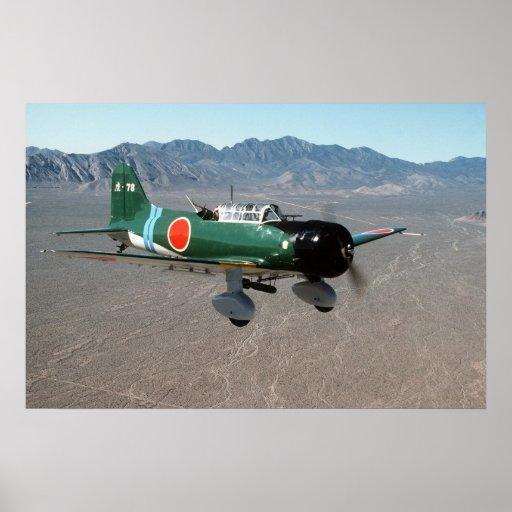 Japaner Val Sturzbomber Plakatdrucke