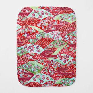 Japaner Washi Kunst rotes BlumenOrigami Yuzen Spucktuch