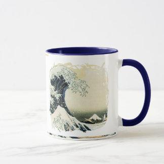 Japaner-Wellen-Malerei-Entwurf Tasse