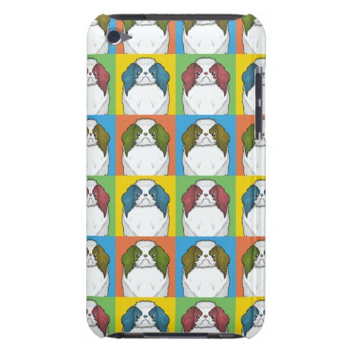 Japanerchin-HundeCartoon Pop-Kunst Barely There iPod Cover