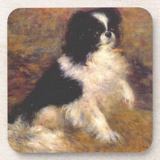 Japanerchin-Hundekunst-Untersetzer Getränkeuntersetzer
