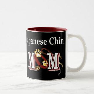 Japanerchin-Mamma-Geschenke Zweifarbige Tasse