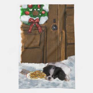 Japanerchin-Weihnachten Handtuch