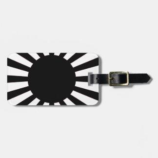 Japanische aufgehende Sonne-Flagge Kofferanhänger