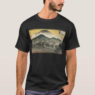 Japanische Berge circa 1800's T-Shirt