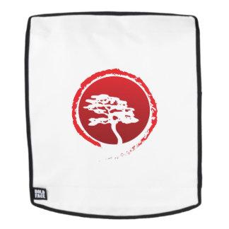 Japanische Bonsais-Baum-Japan-Traditions-Kultur Rucksack