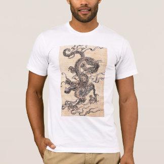 Japanische Drachegrafik T-Shirt