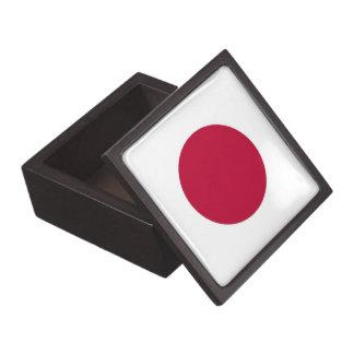 Japanische Flaggen-Prämien-Geschenkboxen Schmuckkiste