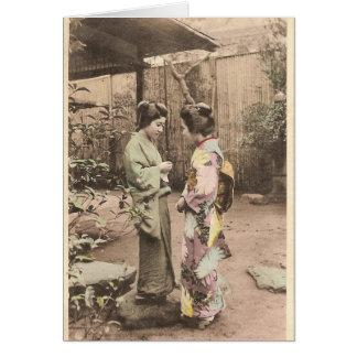 Japanische Frauen Karte