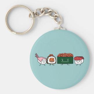 Japanische Garnelelachse des glücklichen Schlüsselanhänger