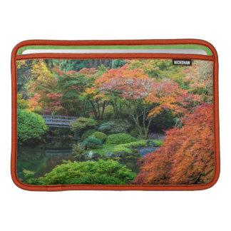 Japanische Gärten im Herbst in Portland, Oregon 3 Sleeve Fürs MacBook Air