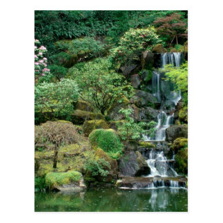 japanische Gärten Postkarte