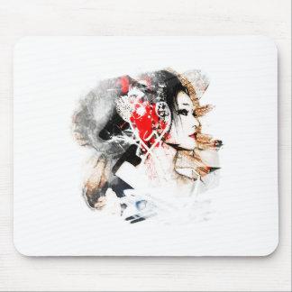 Japanische Geisha Mousepad