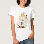 Japanische glückliche Katze Shirts