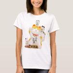 Japanische glückliche Katze T-Shirt