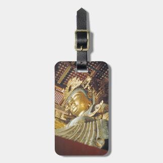 Japanische goldene Statue einfache Identifikation Gepäckanhänger