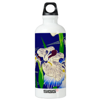 Japanische Iris Wasserflasche