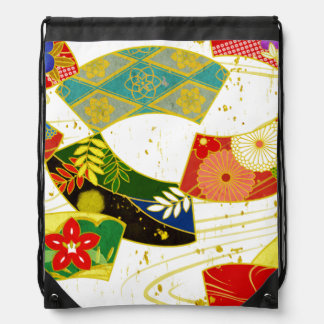 Japanische Kimonoart-Gewebetasche Sportbeutel