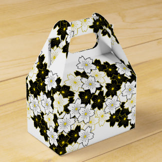 Japanische Kimonomuster Geschenktasche KIRSCHBLÜTE Geschenkschachteln