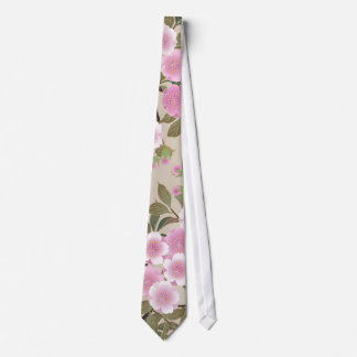 Japanische Kirschblüten Personalisierte Krawatten