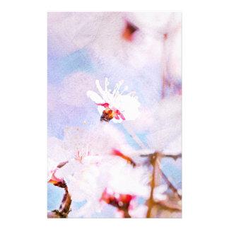 Japanische Kirsche - Kirschblüte in der Blüte Flyer