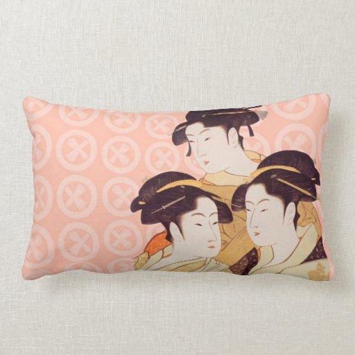 Japanische Kunst-Entwurfs-Wurfs-Kissen
