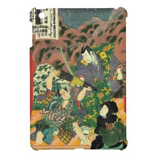 Japanische Kunst - Malerei des zwei Hülle Für iPad Mini