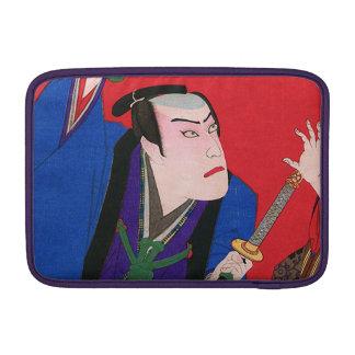 Japanische Kunst - Malerei eines verärgerten Sleeve Fürs MacBook Air