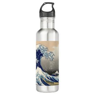Japanische Kunst - Welle Trinkflasche