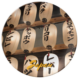 Japanische Lampen Teller