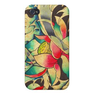 Japanische Lotos-Blume iPhone 4 Case