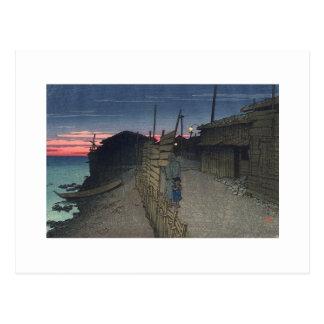 Japanische Malerei circa 1921 Postkarte