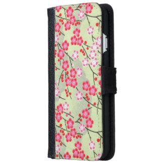 Japanische Muster iPhone 6/6s Geldbeutel Hülle