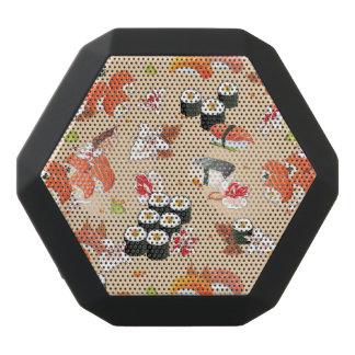 Japanische Nahrung: Sushi-Muster 3 Schwarze Bluetooth Lautsprecher