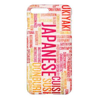 Japanische Nahrung und Küche-Menü-Hintergrund iPhone 8 Plus/7 Plus Hülle