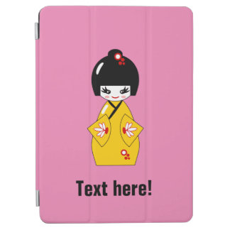 Japanische Puppe iPad Air Cover