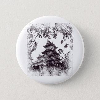 Japanische Ruhe Runder Button 5,7 Cm