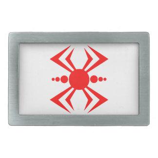 Japanische Spinne Rechteckige Gürtelschnalle