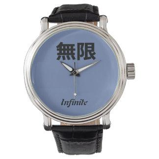 Japanische unbegrenzte Uhr