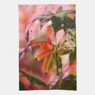 Japanischer Ahorn-Blätter Küchentuch
