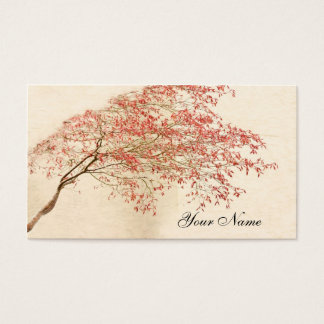 Japanischer Ahorn Visitenkarte