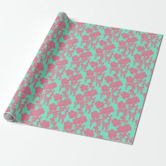 Japanischer Blumendruck Geschenkpapier