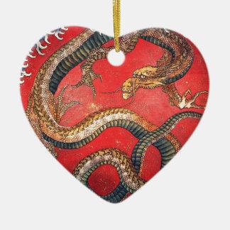 Japanischer Drache Keramik Ornament
