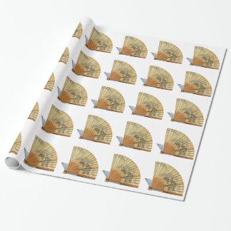 Japanischer Fan Geschenkpapier