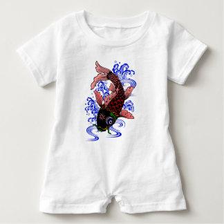 Japanischer Fisch Baby Strampler