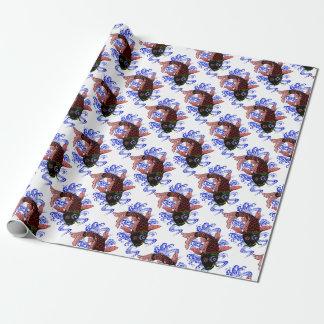 Japanischer Fisch Geschenkpapier