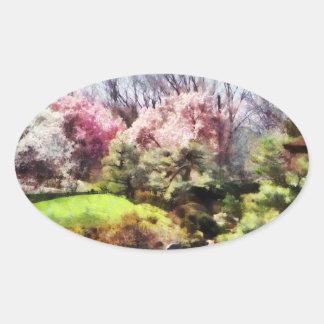Japanischer Frühling Aufkleber