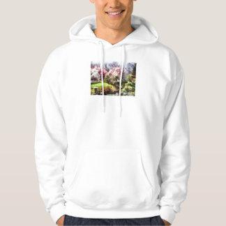 Japanischer Frühling Kapuzensweater