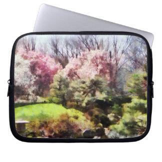 Japanischer Frühling Computer Sleeve Schutzhülle